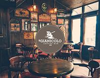 Il Gianicolo Coffee Bar - Brand Identity & UI Design