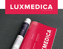 Page in magazine for LUXMEDICA