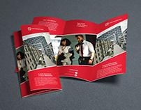 Clean Business 3 Fold Brochure Design