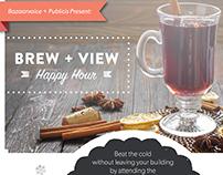 Brew + View Invite