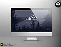 Sailor - Creative Portfolio Muse Template