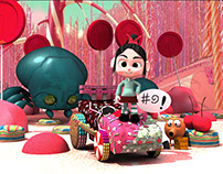 "Fan art from the movie ""Wreck it Ralph"""