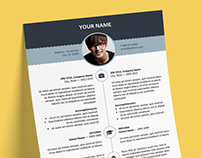 Esquilino - FREE Resume template