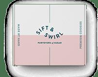 Sift & Swirl Brand Identity