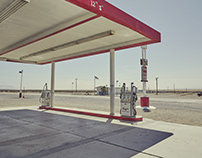 Gas stations - the smell of gasoline