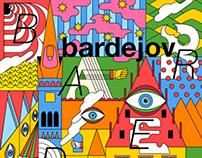 Bardejov town | Cultural Poster