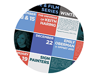 Lecture & Film series posters