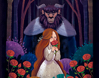 A Bela e a Fera - Capa