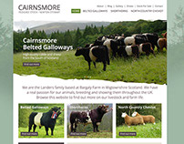Cairnsmore Pedigree Stock Website Design