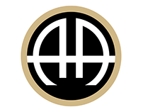 The Admiral Apartment Homes Logo Design