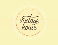 Vintage house (e-catalogue)