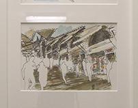 Sketch of Venice EXPO 2016