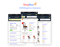 shop now | e-Commerce ui/ux
