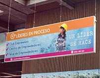 """Banner """"Líderes en Proceso"""" - Leadership School"""