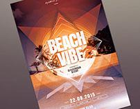 Beach Vibe Flyer