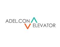 ADEL.CON ELEVATOR Brand Identity