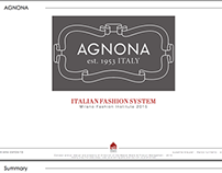 Agnona brand analysis