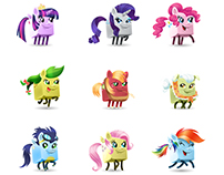 My Little Pony Showdown - Yahztee with Buddies