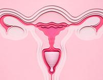The Hello Cup - Uterus