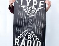 Typeradio-Poster design