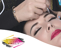 Gráfica para redes sociales - Permanent Make up