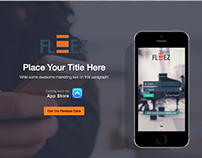 Fleez Responsive Single Landing page