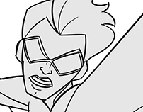 """Stretch Armstrong"" Storyboard Animatic"