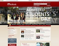 Redlands.edu Homepage Banners