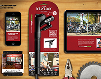 Interlock - The Lock That Hides Inside Your Bike.