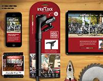 Interlock - The Lock That Hides Inside Your Bike.