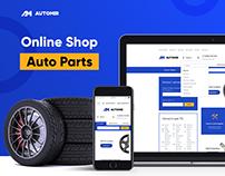 Online Shop: Auto parts