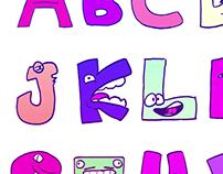Enunciated Alphabet