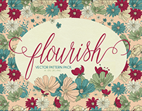 Flourish Vector Pattern Pack