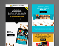 KIND Snacks Email Campaigns