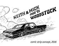 comic strip series, 2016
