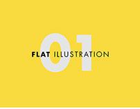 01.Flat Illustration