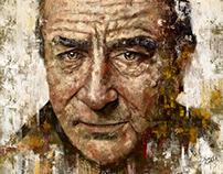 Robert de Niro Portrait