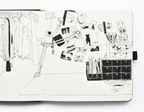 Sketchbook Oct 2014 - May 2015