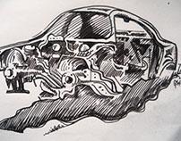 Сломанные автомобили