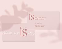 Make-up artist — logo, business cards, soc.media design