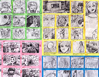 Paper storyboards