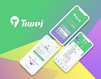 Trwej App UI/UX Design.