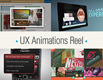 UX animations Reel (2017)