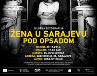 Woman in Sarajevo under Siege