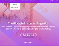 Chobits Website Design