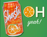 Shasta Soda - Social Media
