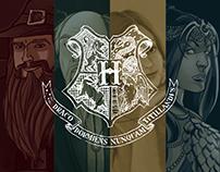 Fundadores, funcionários e corpo docente de Hogwarts