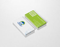"""Visiting Card for """"LUXURY"""" Product : Luxury Car Wash"""