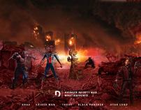 Avenger infinity war character Disintegrate