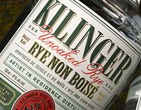 Kilinger Unoaked Rye